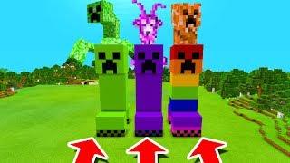 Minecraft PE : DO NOT CHOOSE THE WRONG CREEPER! (Mutant Creeper, Alien & Elemental Creeper)
