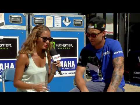 Jeremy Van Horebeek Pit Chat Monster Energy MXGP of The USA 2016