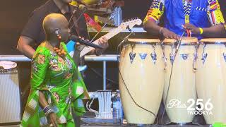 "Angelique Kidjo - ""Agolo"" performance in Uganda"