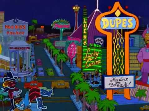 Simpsons Casino