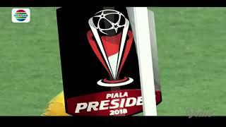 Final Juara 3 Piala Presiden 2018: Gol Hamka Hamzah PSMS Medan (0) vs Sriwijaya FC (2)