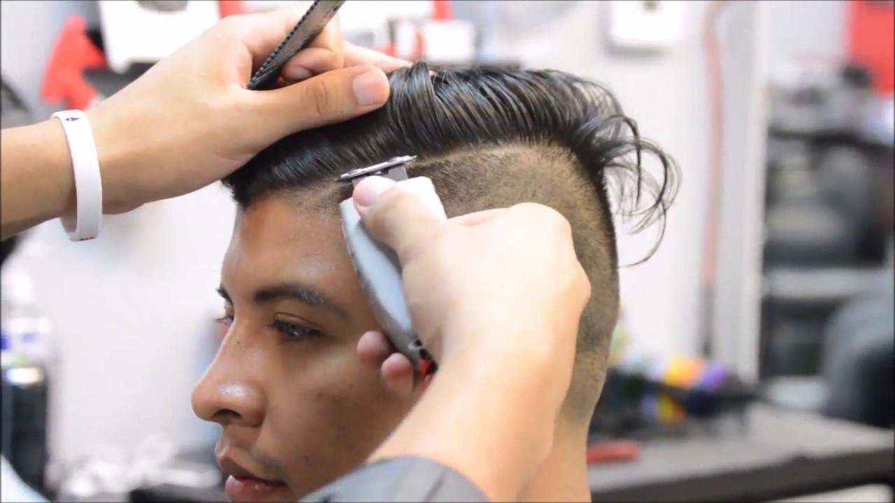 Potong Rambut Undercut Dan Pompadour Youtube