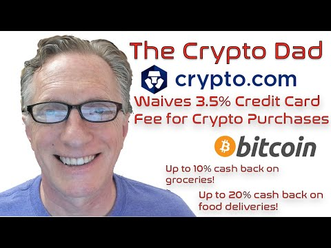 How To Buy Bitcoin With A Credit Card Using Crypto.com! 3.5% Fees Waived For The Next 3 Months!