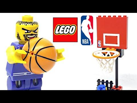 LEGO Sports NBA Slam Dunk Review! 2003 Set 3427!