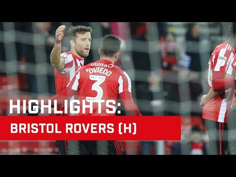 Highlights: Sunderland v Bristol Rovers