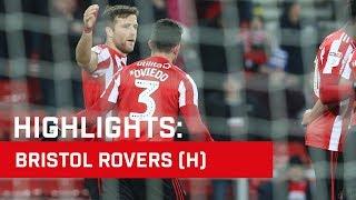 Highlights: Sunderland v Bristol Rovers