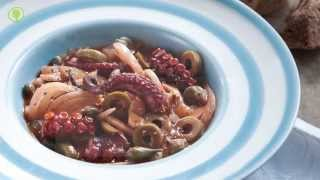 Octopus With Fennel And Green Olives