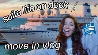 SHIP MOVE IN VLOG || Semester At Sea