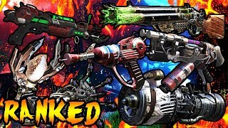 RANKING ALL 24 WONDER WEAPONS From WORST to BEST! Call of Duty Zombies Black Ops 3, BO2, BO & WAW