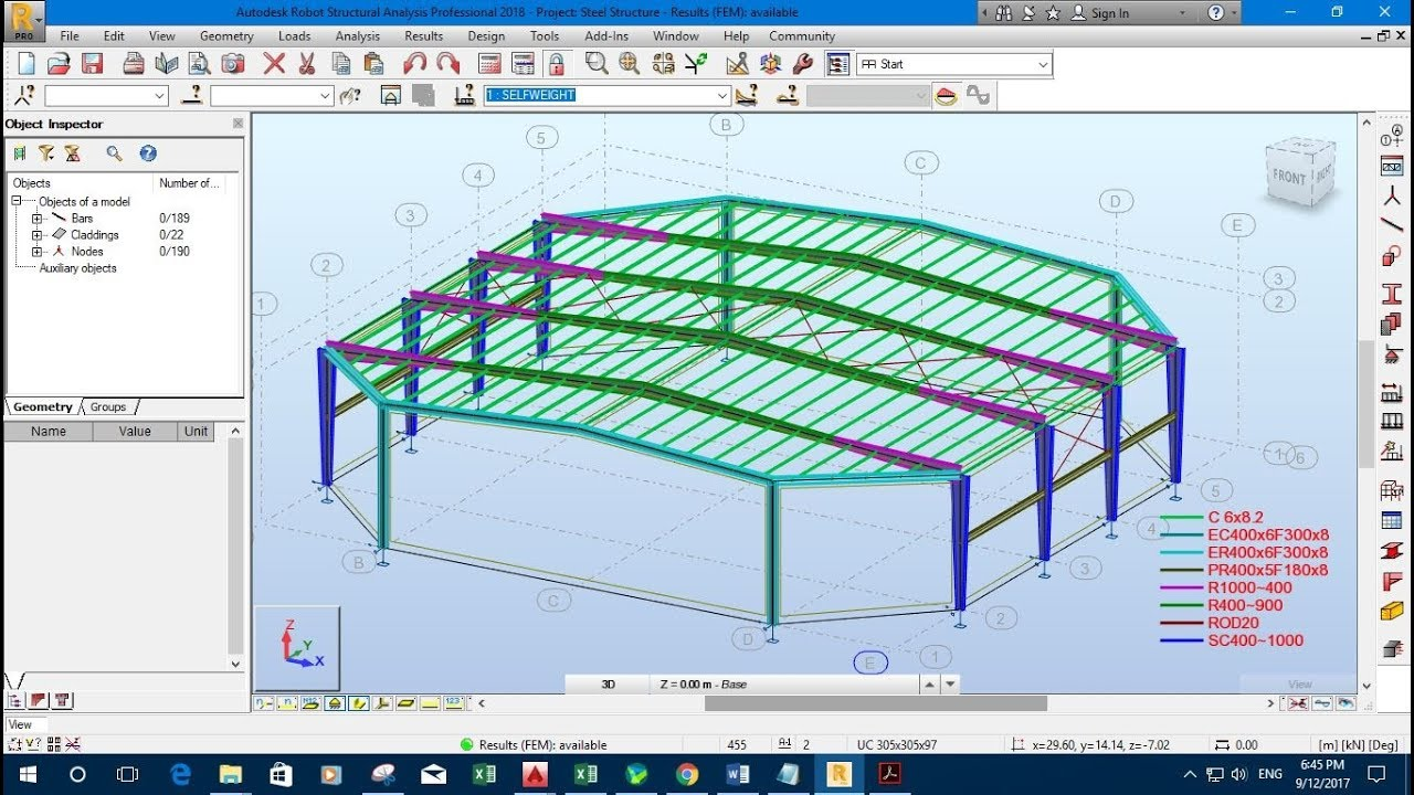 Generating Design Report with Autodesk Robot Structural Analysis