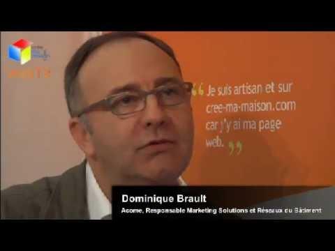 Dominique Brault, Acome à Batimat 2011