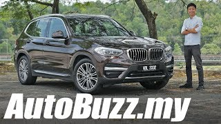 BMW X3 xDrive30i Luxury Line Review - AutoBuzz.my