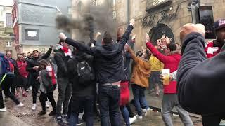 Rennes 3 vs 1 Arsenal - Europa League Away Day Vlog
