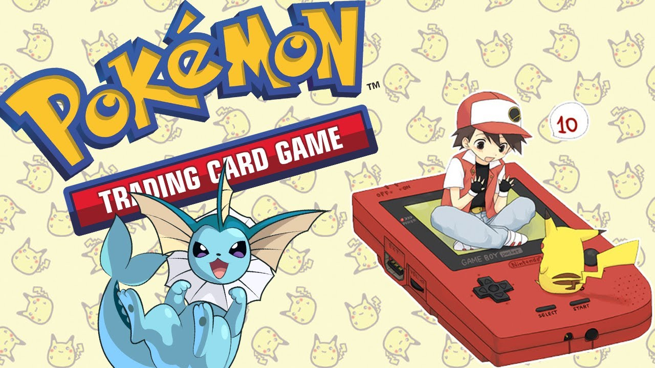 Pokemon gameboy color roms -  Cl Ssico Pokemon Trading Card Game Gameboy Color Quem N O Tem Hearthstone Ca A Com Pokemon