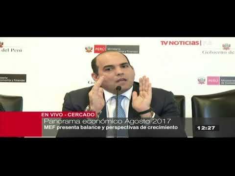 MEF: Economía peruana creció 2.4% en segundo trimestre de 2017