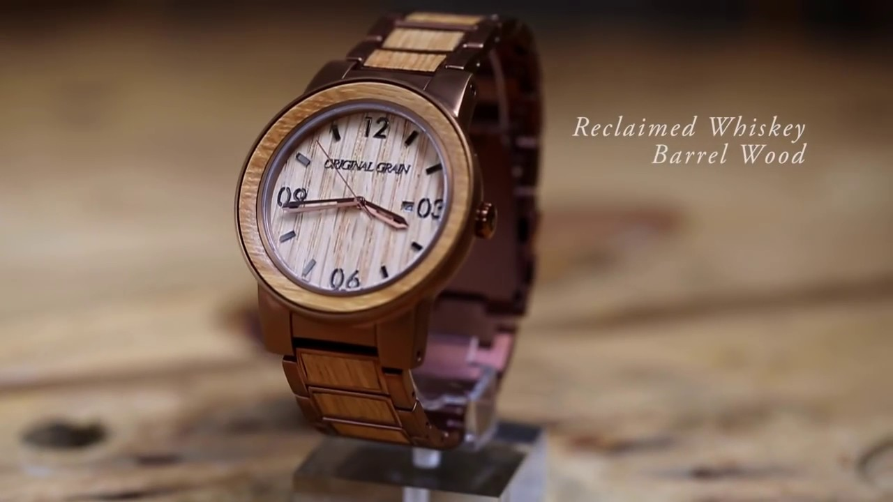 gsc watches the en barrel watch material originalgrain combining whiskey and stylish com m news