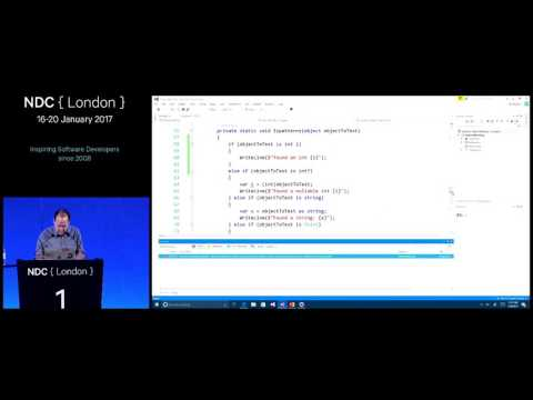 Exploring Pattern Matching in C# - Bill Wagner