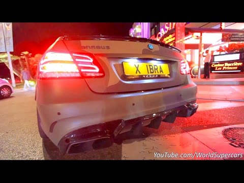 download Brabus E850 w/Decat Exhaust Start, Revving and Acceleration Sound!