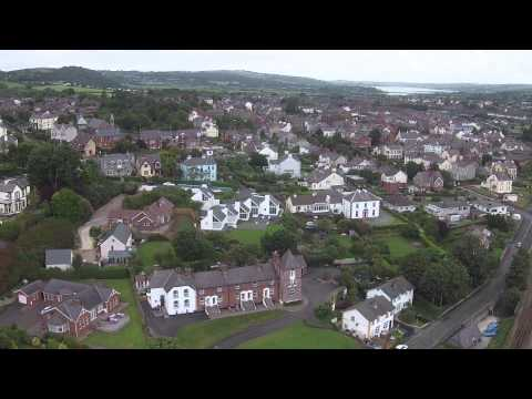 Aerial View of Whitehead Northern Ireland