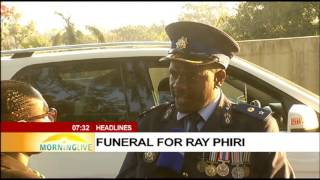 UPDATE: Funeral procession leaves the home of ray Phiri