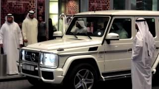 G63 AMG Mercedes-Benz No. 1 of Sheikh Mohammed bin Rashid Al Maktoum's سيارة حاكم دبي