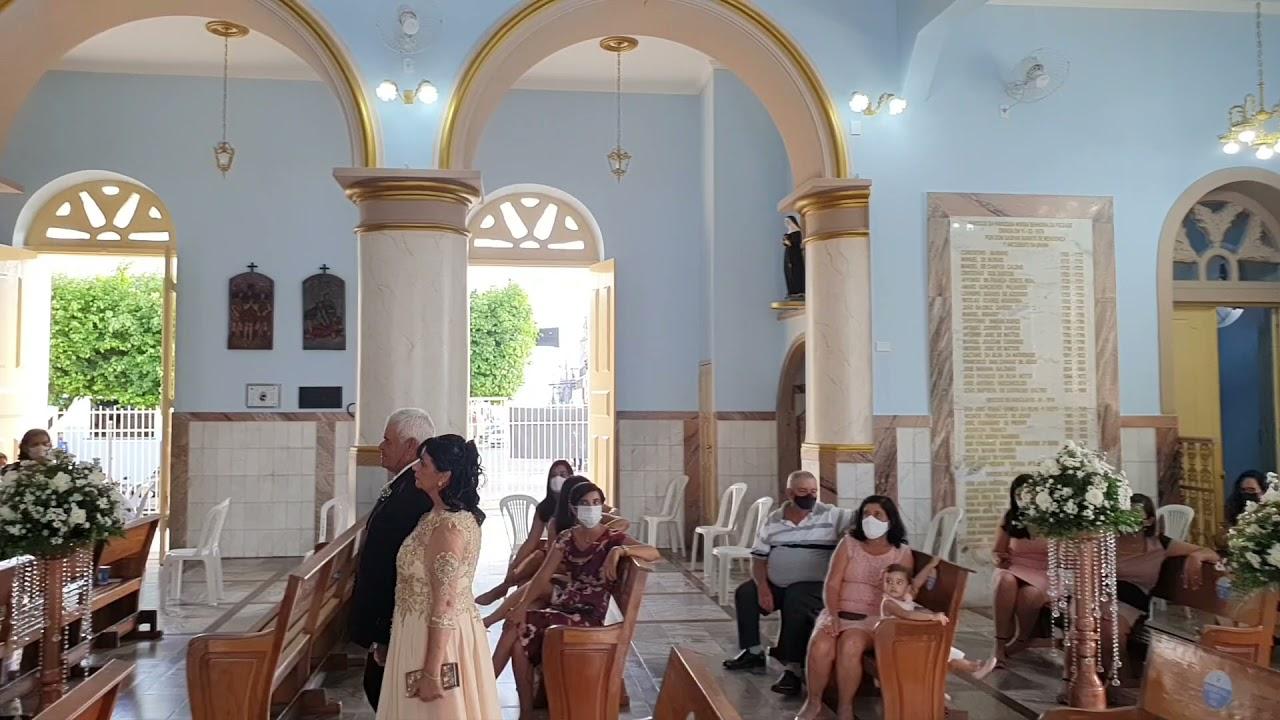 Los (os) Encantadores  - Casamento Matriz Nsa da Piedade  - ( Freire Trompete)