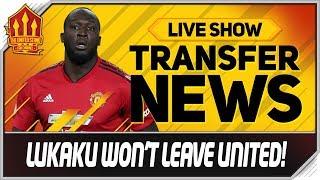 Solskjaer's Lukaku Transfer Dilemma! Man Utd Transfer News
