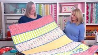 Cindy & Friends Easy Double-sided Quilted Cottons Project