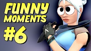 The play of my life, but... Valorant Funny Moments #6 - Clutches and Fails