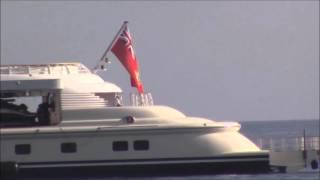 Megayacht PELORUS superyacht in Puerto Banus Marbella Spain May 2016