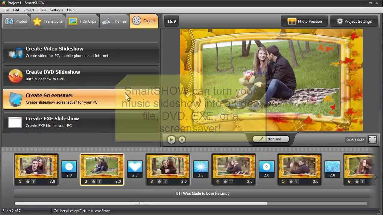 Create A Video Slideshow With Music Online Free