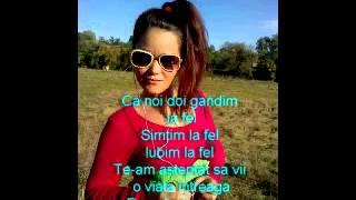 Lidia Buble feat Adrian Sina - Noi simtim la fel