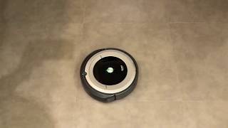 iRobot Roomba 690 清掃展示 (定點SPOT模式)