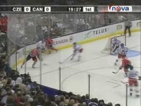 Canada - Czech Republic 4:3 WC 2004 / Světový pohár 2004