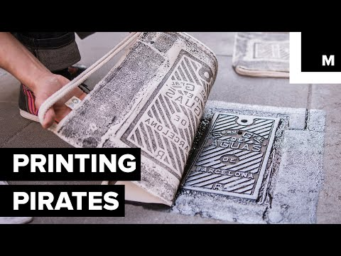 This Art Collective Turns Street Covers and Tiles into Bespoke Printing Presses