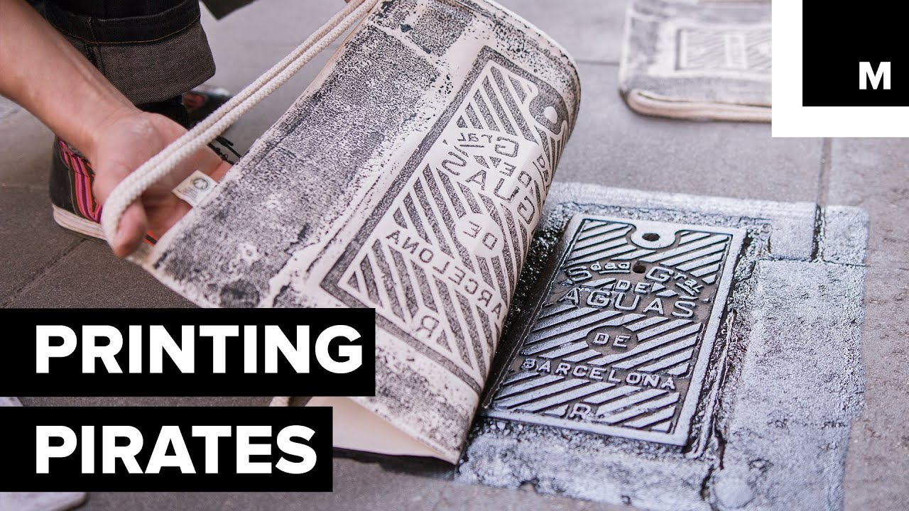 2d27c0fe This Art Collective Turns Street Covers and Tiles into Bespoke Printing  Presses