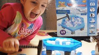 Іграшки з Фікс Прайс. Пінгвін у крижаній пастці / Розпакування