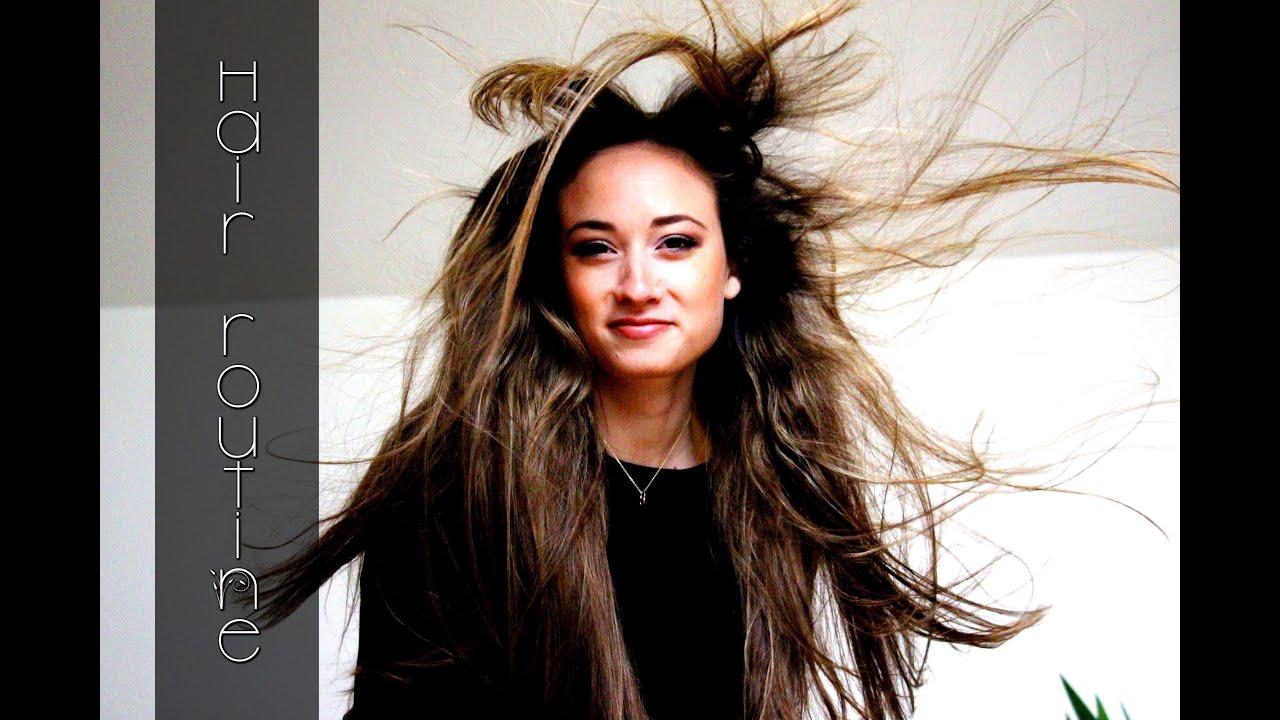 schnell lange gesunde haare wachsen lassen meine haarroutine tipps gegen fettige haare youtube. Black Bedroom Furniture Sets. Home Design Ideas
