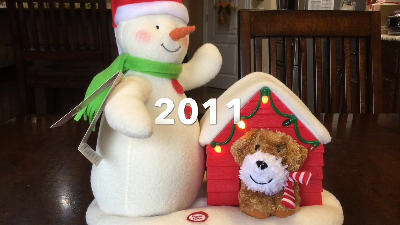 Hallmark Snowman Collection 2003 2018 Youtube