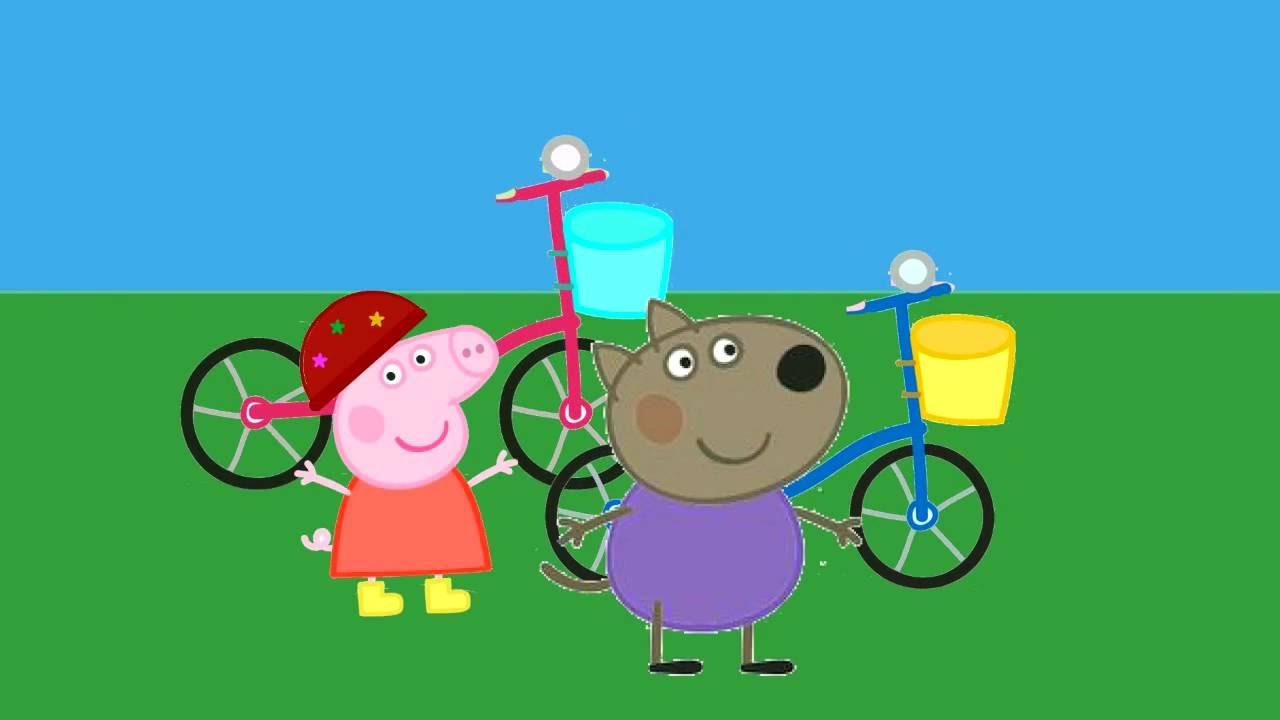 Peppa Pig Gets New Bicycle