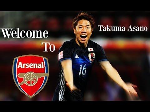 Takuma Asano - 2016 | Welcome to Arsenal [HD]