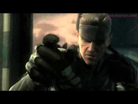 Metal Gear Solid 4 Snake vs Liquid Figure 09 (Music Video) (Linkin Park)