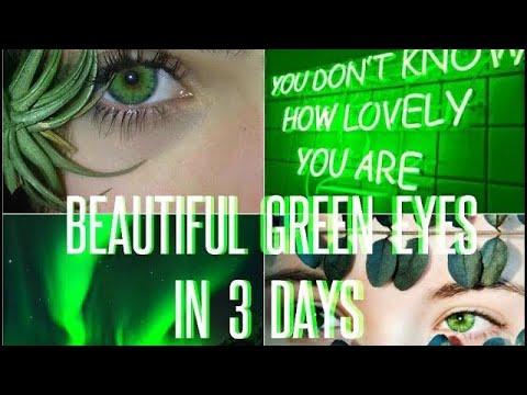 Beautiful Rare Exotic Green Eyes - Subliminal Affirmations