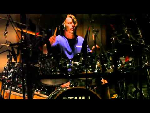 Chad Kent recording at HyperThreat Sound II