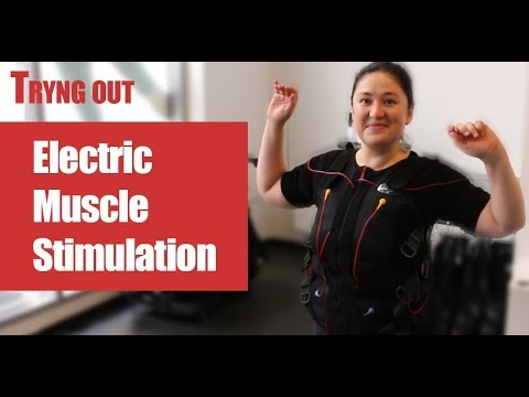 My first time doing Electrical Muscle Stimulation (EMS). Is it a good workout?