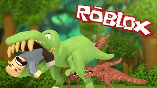 Roblox | ATTACK OF THE GIANT DINOSAURS! Dinosaur Simulator! (Roblox Adventures)