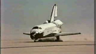 Space Shuttle Columbia First Launch and Landing