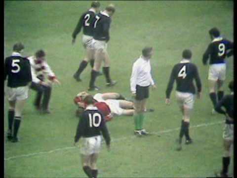 Scotland v Wales 1971