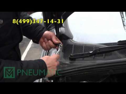 Амортизатор (упор) капота на Peugeot 408 KU-PG-4080-00 (обзор, установка)