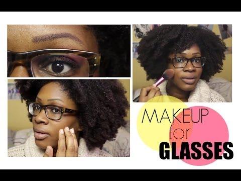 se maquiller avec des lunettes makeup for glasses youtube. Black Bedroom Furniture Sets. Home Design Ideas